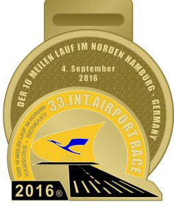 AIRPORT RACE 16 F1 Medaille vorderseite 26.08.2016